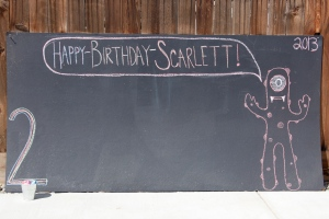 Scarlett's Gabba party!
